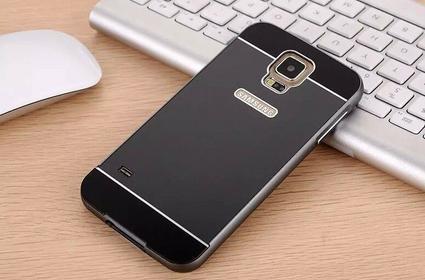 Obudowa Bumper Case Zolti Galaxy S5 Czarna - Czarny