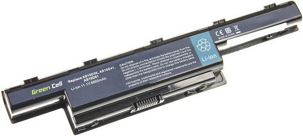 Green Cell Bateria do laptopa Acer Aspire 5742 5750 E1-571 5741 5733 5742G 5750G Acer TravelMate 5742 5740 5742G 6600 mAh AC07 11.1V (10.8V)
