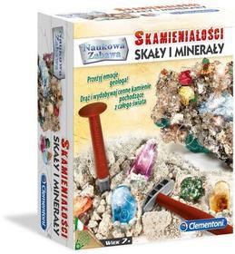 Clementoni Skamieniałości Skały Minerały
