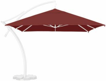 LITEX Promo Sp. z o.o. Poszycie parasola ogrodowego Ibiza Quattro 3,5x3,5m Burgu