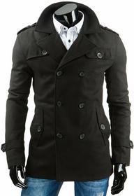 DStreet Płaszcz męski czarny (cx0303)