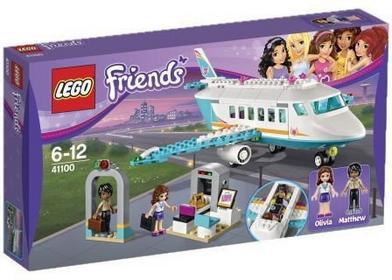 LEGO Friends - Prywatny odrzutowiec w Heartlake 41100