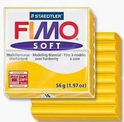 Fimo Modelina TERMOUTWARDZALNA SOFT 56G RÓŻNE KOLORY SOFT 56g mix kolorów