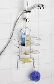 Wenko Wieszak pod prysznic EXCLUSIVE, 3 poziomy, 2 haczyki 6B3