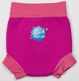 Splash About Neoprenowa pieluszka do pływania Happy Nappy różowa z mango kropki