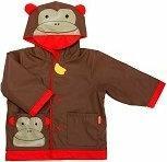 Skip Hop Płaszcz przeciwdeszcz. Małpa (L)