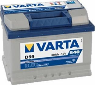 Varta Akumulator Blue Dynamic D59 60 Ah 540 A)