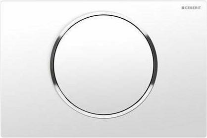 Geberit Sigma 10 przycisk biały-chrom bł.-biały 115.758.KJ.5