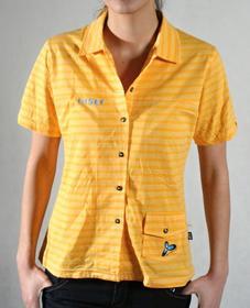 koszulka damska z długim rękawem BATYSKAF BATYSKAF shirt yellow stripe
