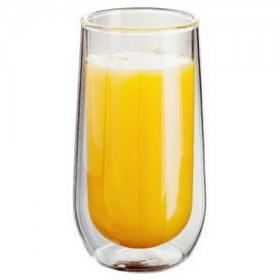 Judge Szklanki do drinków soków podwójne ścianki 2 szt JU-JDG20