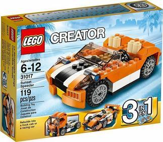 LEGO Creator 31017 SŁONECZNY ŚCIGACZ