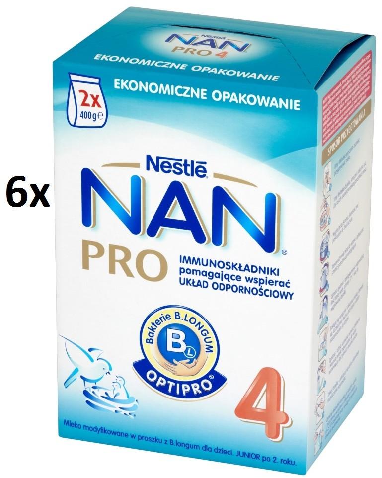 Nestle NAN Pro 4 z B.longum 800g