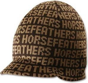 Horsefeathers czapka zimowa męska kulich Index brown