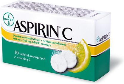 Bayer Aspirin C 10 szt.