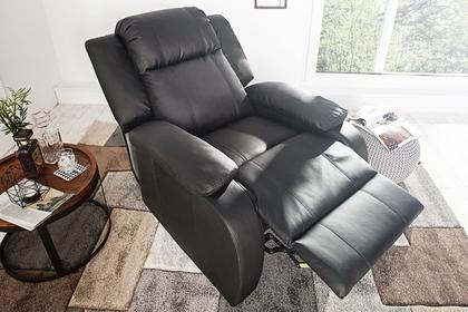 Interior Fotel Relaxer czarny i-72058