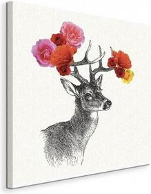 Deer - Obraz na płótnie