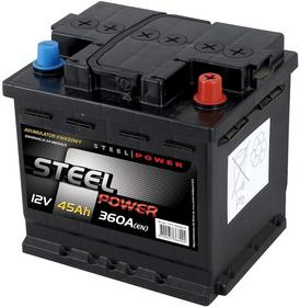 Steel Power 12 V 45Ah 360A P+