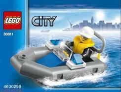 LEGO CITY - Motorówka policyjna 30017