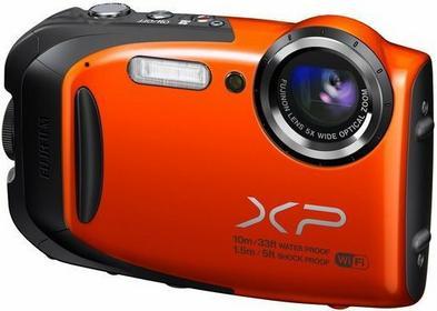 Fuji FinePix XP70 pomarańczowy