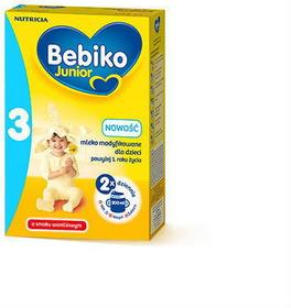 Bebiko Junior 3 NutriFlor+ o smaku waniliowym 350g