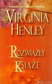 Virginia Henley Rozwiązły książę