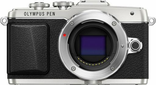 Olympus PEN E-PL7 + 14-42 EZ 3D srebrny