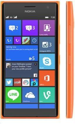 Nokia Lumia 730 Dual SIM Pomarańczowy