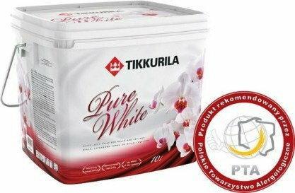 Tikkurila Pure White BIAŁA - 10L C068910010