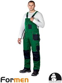 Leber & Hollman ZIELONE spodnie ROBOCZE LH-FMN-B (ZBS)