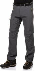 4F Spodnie trekkingowe 2w1 męskie T4L15.SPMC002 - grafitowy
