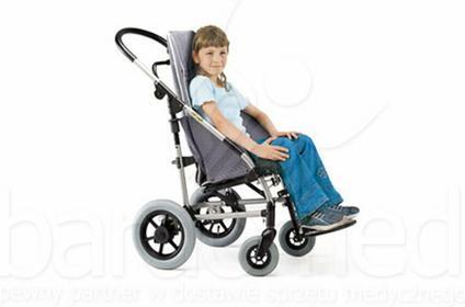 Mobilex Wózek inwalidzki dziecięcy spacerowy Ormesa New Novus roz. 2, 3, 4