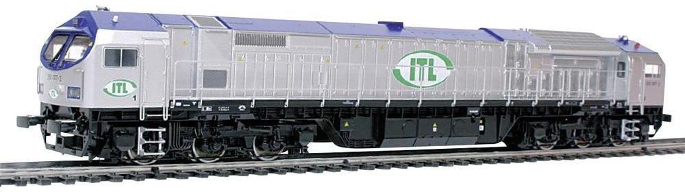 Mehano lokomotywy diesel H0 5012 Interfejs Analog DC Rozstaw osi: 276 mm