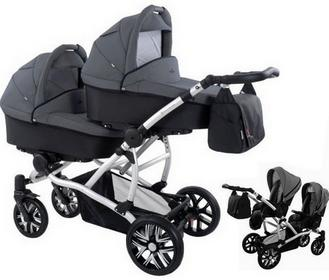 Bebetto 42 3w1 kol230 GREY-BLACK