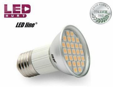 LED Line Żarówka LED E27 JDR 5W 27SMD5050 biała ciepła 242229