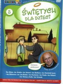 Wydawnictwo Promyczek O Świętych dla dzieci - cz.5