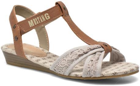 Mustang Sandały shoes Neele Dziecięce Beżowe