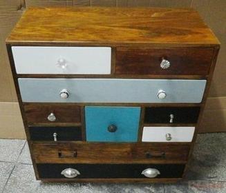 Kare Design Komoda Malibu ( 10 szuflad ) - :: Komoda Malibu ( 10