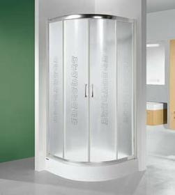 Sanplast Tx 4 80 KP4/TX4-90 90x90 profil biały EW szkło W0