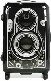 Saxoline Vintage Camera średnia walizka 3110H0.60.06