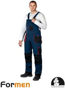 Leber & Hollman GRANATOWE spodnie ROBOCZE LH-FMN-B (GBC)