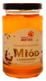 Miód lawendowy z Prowansji - do dań deserów herbaty - Bartnik-300g 04967