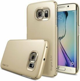 Rearth Oryginalne etui obudowa Ringke Slim Royal Gold dla Samsung Galaxy S6 Edge