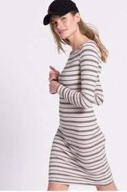 Vero Moda Sukienka 10166909 beżowy