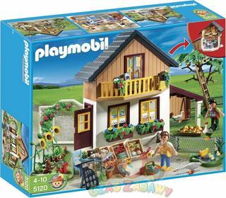 Playmobil Dom wiejski ze sklepem 5120
