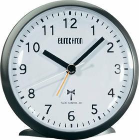 Eurochron Budzik radiowy EFW 340 110 x 110 x 50 mm czarny