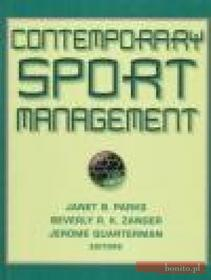 Janet Parks Contemporary Sport Management