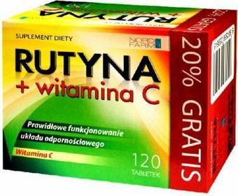 Nord Farm Rutyna + witamina C