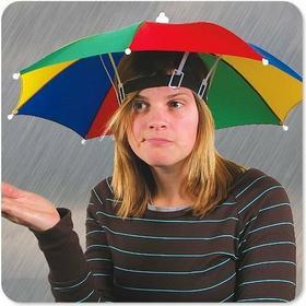Parasol na głowę