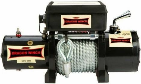 Dragon Winch 559 55932503 Wyciągarka samochodowa Maverick DWM 8000