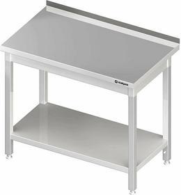Stalgast Stół przyścienny z półką 400x700x850 mm skręcany 980047040